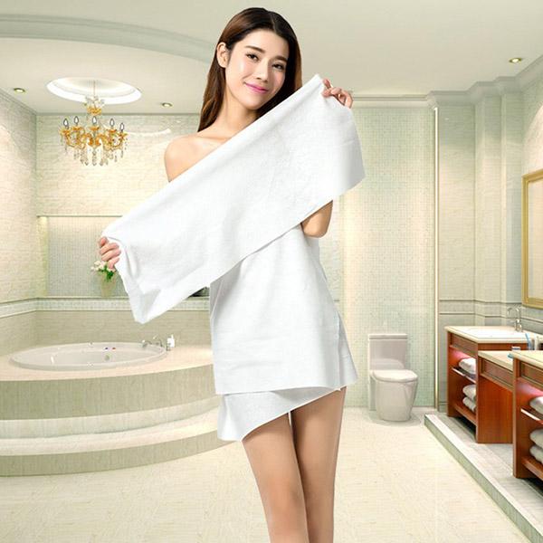 Khăn tắm cotton được nhiều khách sạn ưu tiên chọn lựa