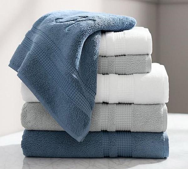 Hình ảnh khăn tắm được làm từ chất liệu cotton