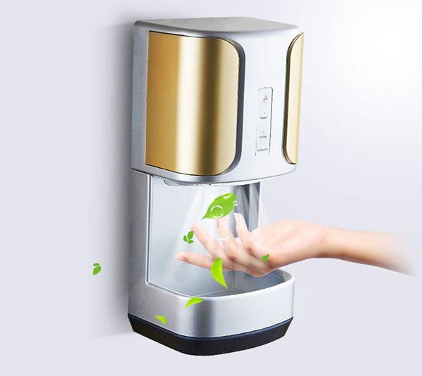 Máy sấy tay giúp tay khô nhanh chóng và hiệu quả