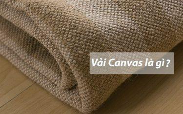 Vải canvas là gì? Ngạc nhiên trước ứng dụng đa dạng của vải Canvas