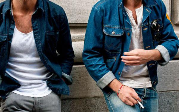 Những chiếc áo khoác được làm từ chất liệu vải jean đầy phong cách