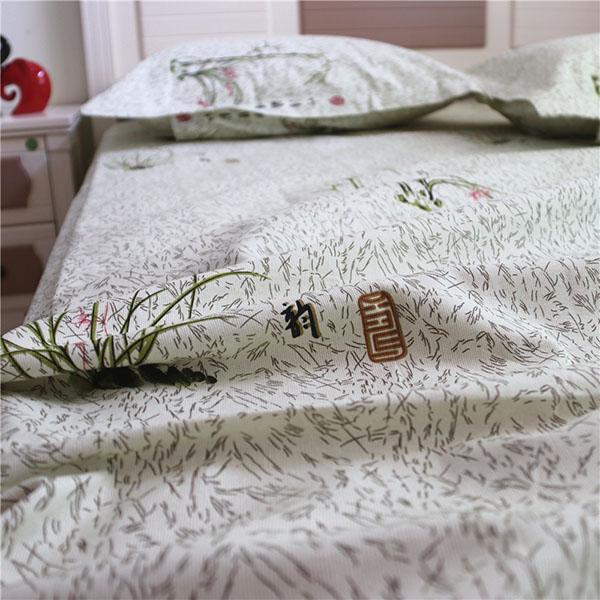 Hình ảnh sản phẩm chăn ga gối được làm từ vải thô mềm