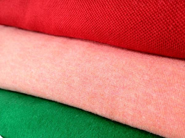 Chất liệu vải thun kết hợp được với nhiều loại vải khác nhau