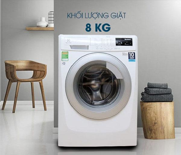 Xác định rõ trọng tải của máy giặt để cho lượng đồ phù hợp