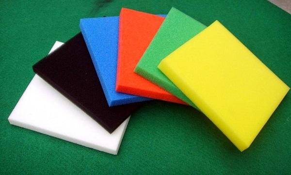Foam là chất liệu được sử dụng rất phổ biến trong các ngành sản xuất