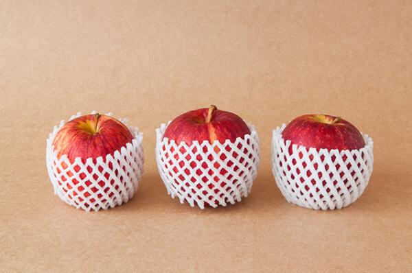 Ứng dụng thường thấy nhất của PE foam là làm lưới xốp bọc trái cây
