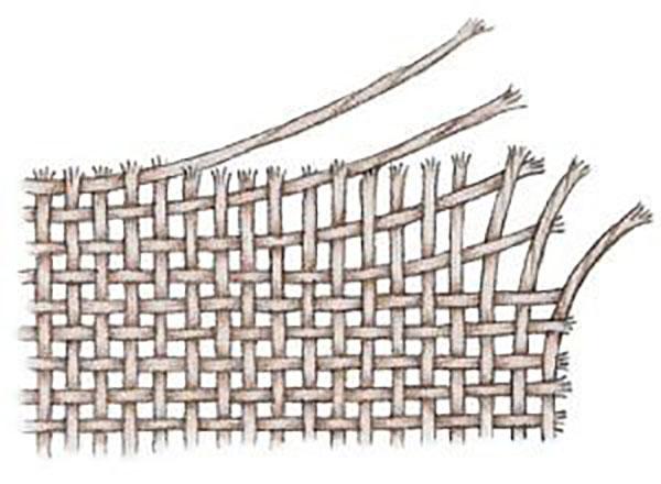 Dệt thoi là phương thức đan vuông góc các sợi dọc và sợi ngang