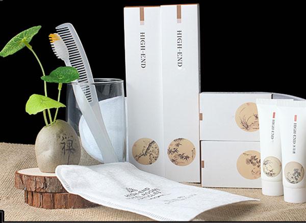 Đồ amenities thân thiện với môi trường với bao bì loại hộp giấy