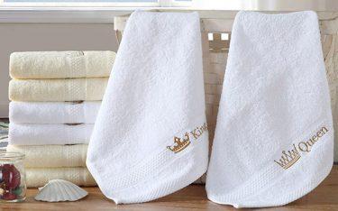 In logo lên khăn tắm, khăn mặt khách sạn: 1 chi phí 10 lợi ích