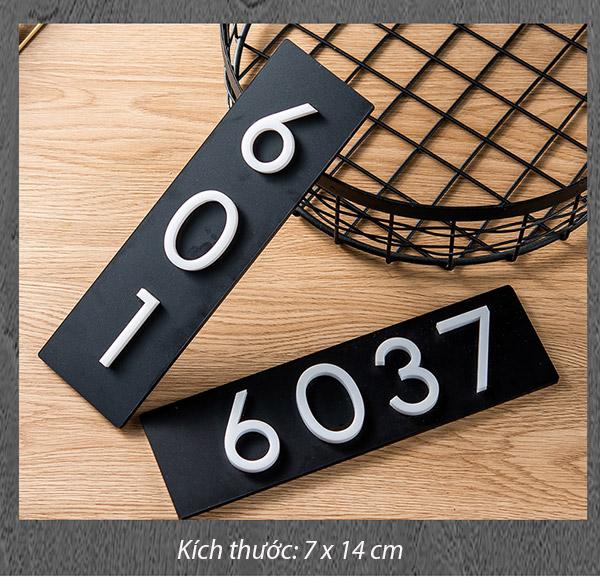 Kích thước biển số phòng chung cư 24 x7