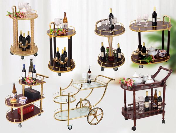 Liên hệ Poliva để đặt những mẫu xe đẩy rượu đẹp, cao cấp nhất
