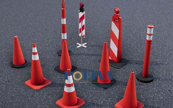 Cọc tiêu giao thông được thiết kế với hình dáng đa dạng