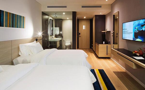 Mua ga trải giường màu trắng cho khách sạn ở đâu uy tín?