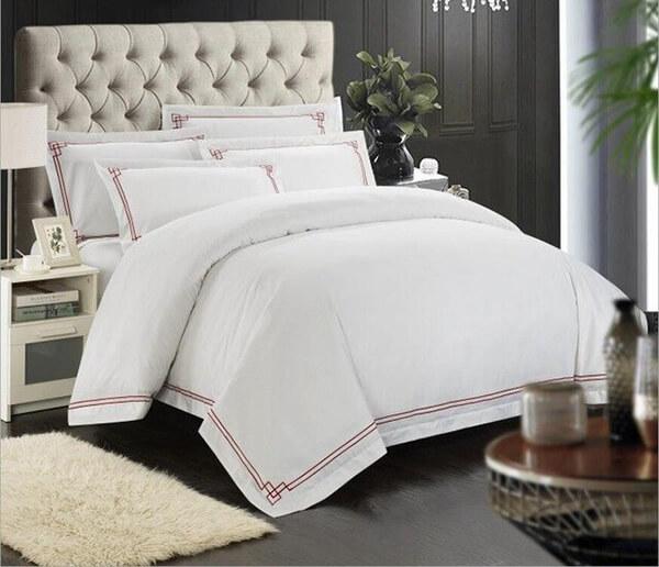 Cotton là loại vải thông dụng nhất để may chăn ga gối khách sạn