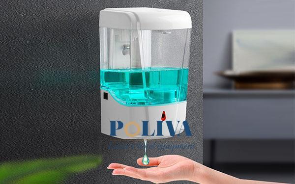 Bình nước rửa tay cảm ứng là thiết bị thông minh, hiện đại