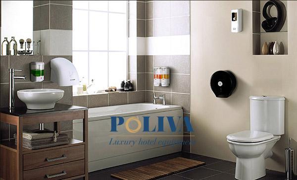 Hộp đựng nước rửa tay cảm ứng và dạng nhấn được nhiều người sử dụng