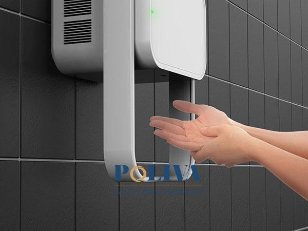 Sản phẩm máy sấy tay của Poliva có chất lượng cao, giá thành hợp lý