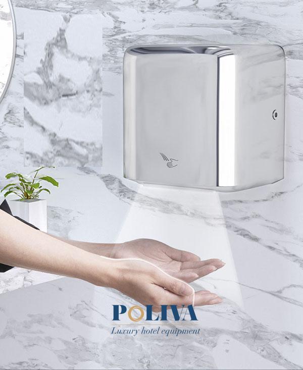 Nhiều người lựa chọn máy sấy tay thay vì khăn giấy bởi thiết bị này sở hữu nhiều ưu điểm
