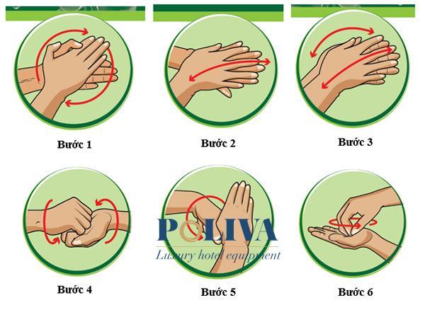 Rửa tay đúng cách bằng nước rửa chuyên dụng là cách để bảo vệ bản thân