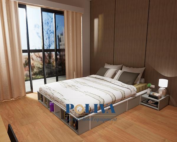 Giường đôi thường được homestay trang bị trong những căn phòng mà người thuê muốn sự riêng tư