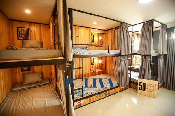 Giường tầng homestay là nét đặc trưng hấp dẫn