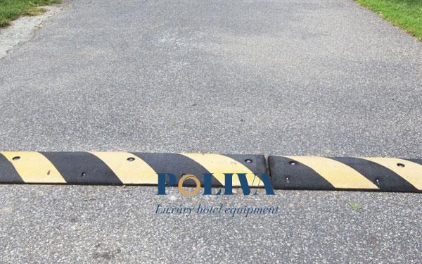Phạm vi áo dụng của gờ là trên mặt đường bê tông nhựa, bê tông xi măng hoặc mặt đường láng nhựa