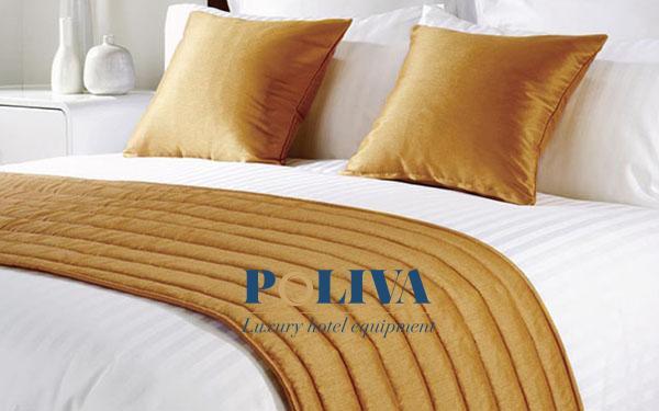 Top 4 chất liệu vải may tấm trang trí giường khách sạn thông dụng nhất