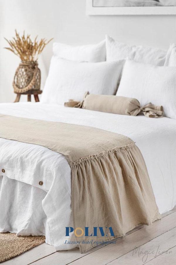 Có một vài loại trang trí giường có thiết kế ấn tượng