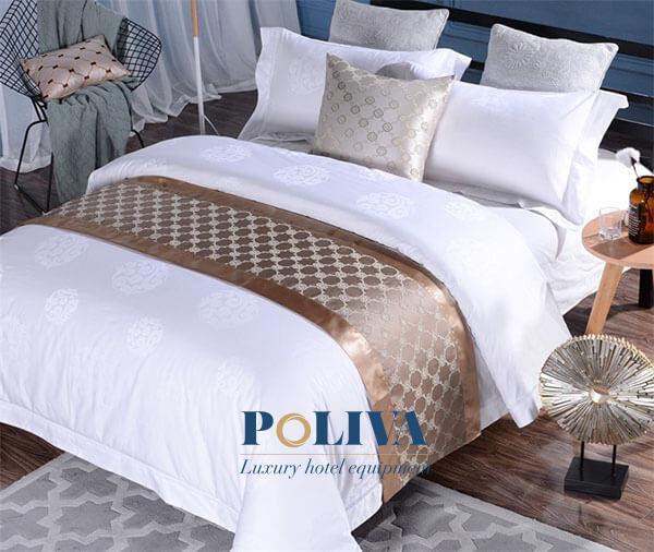 Độ dài ngắn, rộng hẹp của tấm vải trải ngang giường phải tương xứng với giường ngủ