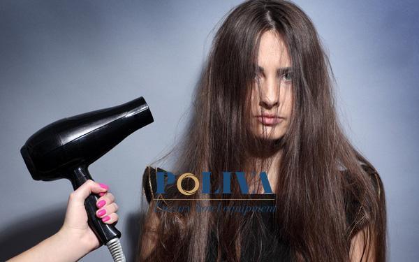 Có nên sấy tóc sau khi gội