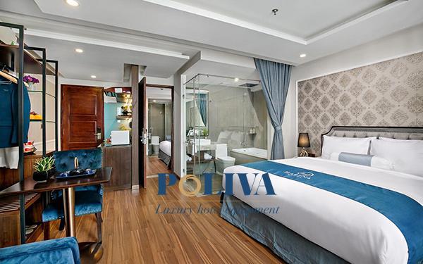 Phòng khách sạn khi được giao cho khách luôn sạch sẽ