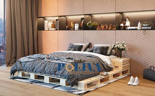 Giường pallet là gì? Đánh giá chất lượng giường ngủ pallet