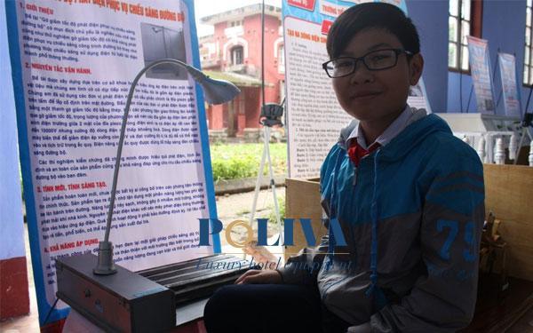 Nhóm học sinh THCS sáng chế gờ giảm tốc phát điện dựa trên ý tưởng từ chiếc bật lửa