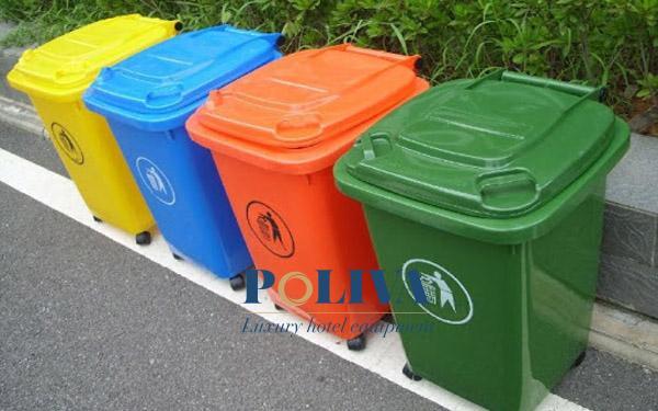 kích thước thùng rác công cộng
