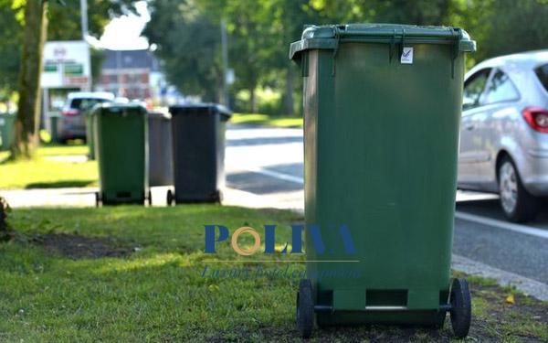 Poliva cung cấp thùng rác nhựa ngoài trời chất lượng