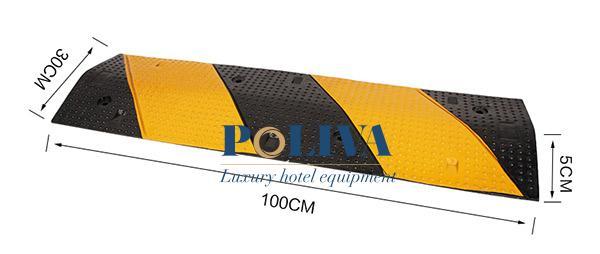 Hai màu đen và vàng phát quang nên người lái xe dễ dàng nhận biết từ xa