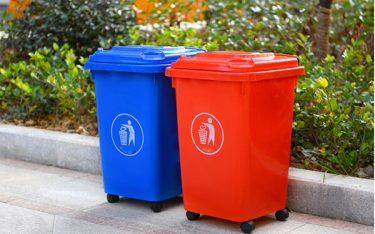 Tổng hợp các kích thước thùng rác công cộng (60L, 120L, 240L, 660L)
