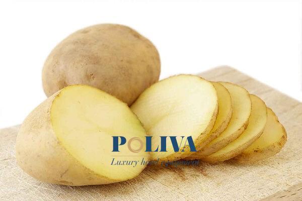 Khoai tây có tác dụng làm sạch và loại bỏ lớp cặn bám nhanh chóng