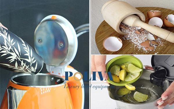 4 cách loại bỏ cặn trong ấm đun nước đóng chặt lâu ngày trong tích tắc