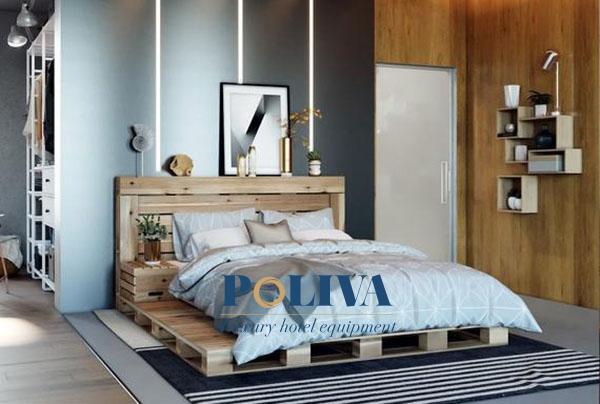 Chiếc giường này có thể tạo nên điểm nhấn riêng cho phòng ngủ