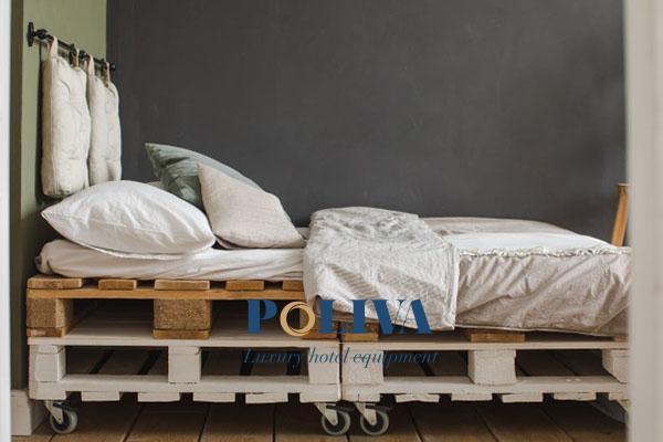 Loại giường kết hợp bánh xe rất tiện lợi