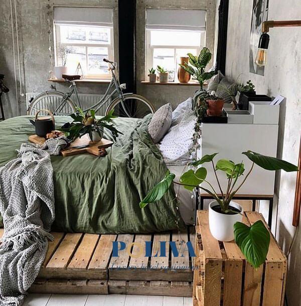 Màu gỗ tự nhiên khiến không gian trở nên ấm cúng hơn nhiều