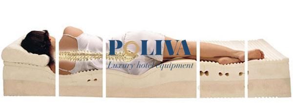 Gối hay nệm memory foam đều hỗ trợ nâng đỡ cột sống tối đa
