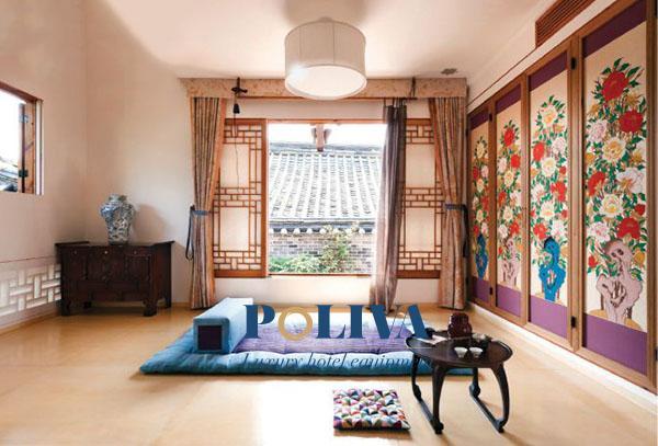 Đây là kiểu giường truyền thống ở Hàn Quốc và Nhật Bản