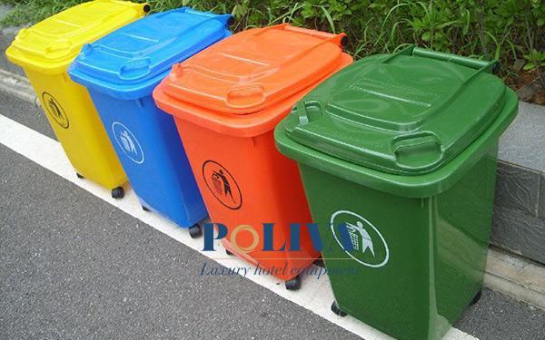 4 dấu hiệu nhận biết thùng rác nhựa tốt – thùng rác công cộng chất lượng