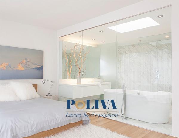 Không gian phòng thêm phần mới mẻ khác hẳn phòng ngủ tại nhà