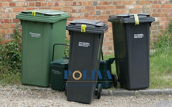 tăng tuổi thọ cho thùng rác công cộng