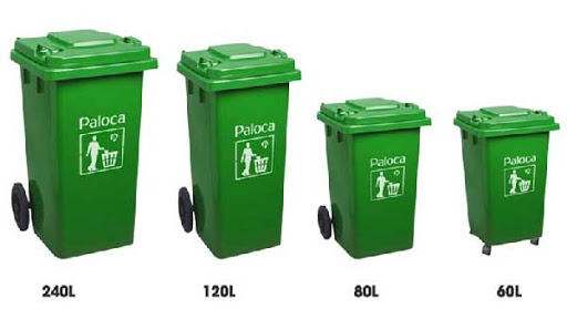 Hiện nay các loại thùng rác trên thị trường có rất nhiều mức dung tích khác nhau