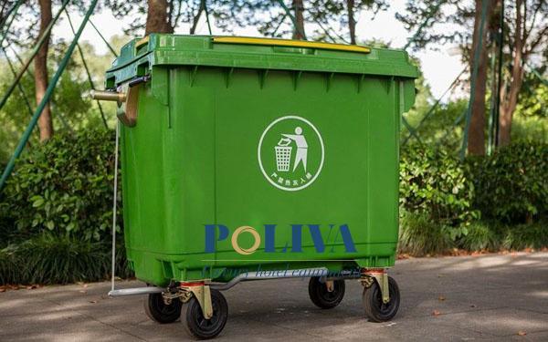 thùng rác nhựa 1000 lít