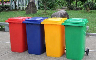 Thùng rác 240 lit loại nào tốt, giá thùng rác nhựa 240l Poliva bao nhiêu?